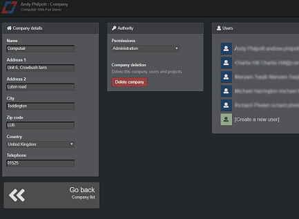 Fan selection software - users